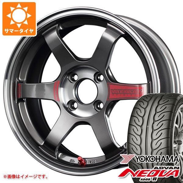 サマータイヤ 195 55R15 85V ヨコハマ アドバン ネオバ AD08 R レイズ ボルクレーシング TE37SL ソニック 6.5-15 タイヤホイール4本セット