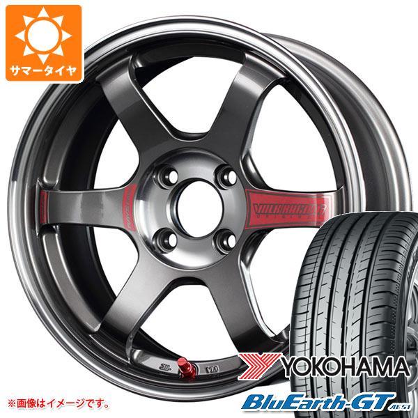 サマータイヤ 185/65R15 88H ヨコハマ ブルーアースGT AE51 レイズ ボルクレーシング TE37SL ソニック 6.0-15 タイヤホイール4本セット