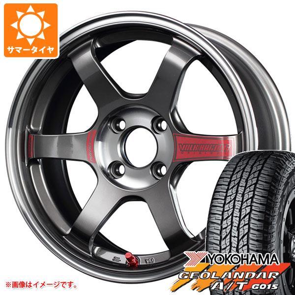 サマータイヤ 165/60R15 77H ヨコハマ ジオランダー A/T G015 ブラックレター レイズ ボルクレーシング TE37SL ソニック 5.0-15 タイヤホイール4本セット