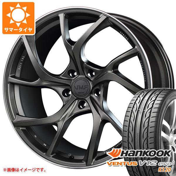 サマータイヤ 245/35R20 95Y XL ハンコック ベンタス V12evo2 K120 レイズ ベルサス VMF C-01 8.5-20 タイヤホイール4本セット