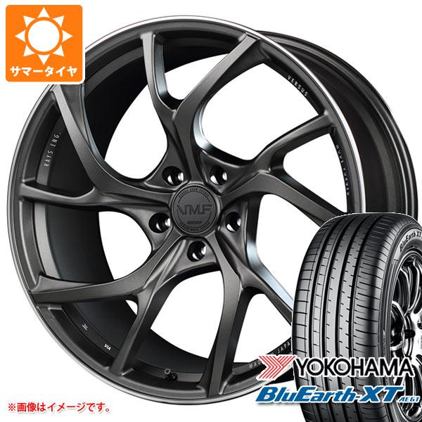 サマータイヤ 235/55R20 102V ヨコハマ ブルーアースXT AE61 レイズ ベルサス VMF C-01 8.5-20 タイヤホイール4本セット