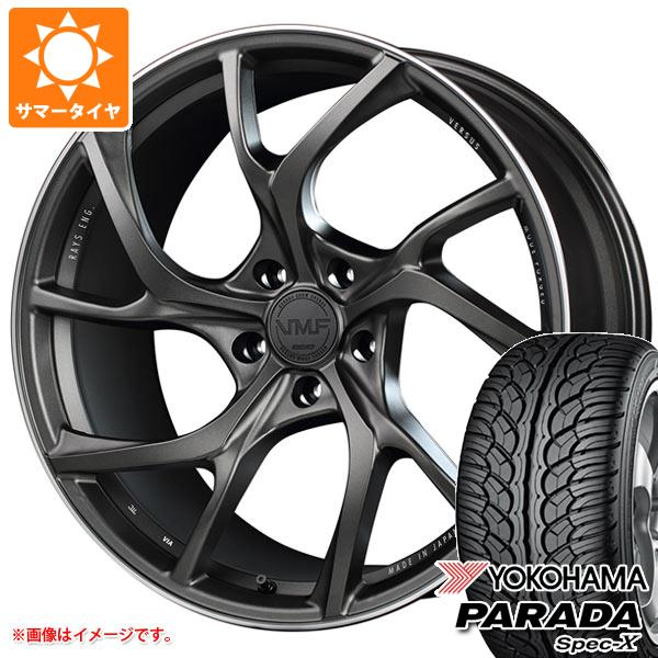 サマータイヤ 245/45R20 99V ヨコハマ パラダ スペック-X PA02 レイズ ベルサス VMF C-01 8.5-20 タイヤホイール4本セット