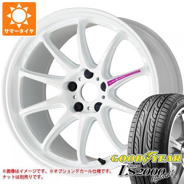 2020年製 サマータイヤ 165/50R16 75V グッドイヤー イーグル LS2000 ハイブリッド2 エモーション ZR10 5.5-16 タイヤホイール4本セット