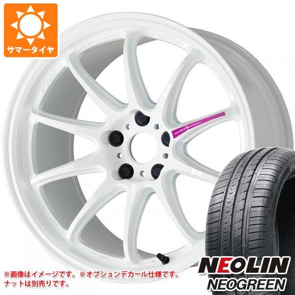 サマータイヤ 165/45R16 74V XL ネオリン ネオグリーン エモーション ZR10 5.5-16 タイヤホイール4本セット