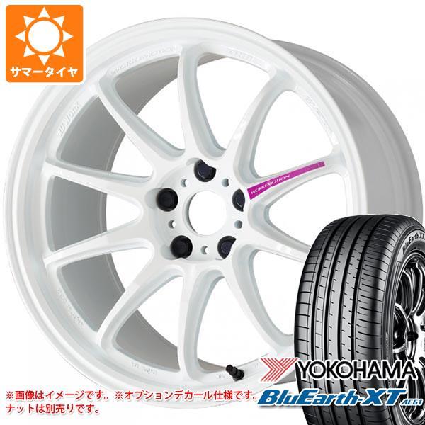 サマータイヤ 235/55R19 101V ヨコハマ ブルーアースXT AE61 ワーク エモーション ZR10 8.5-19 タイヤホイール4本セット