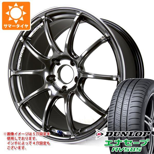 サマータイヤ 245/45R19 98W ダンロップ エナセーブ RV505 アドバンレーシング RZ2 8.5-19 タイヤホイール4本セット