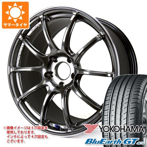 サマータイヤ 185/65R15 88H ヨコハマ ブルーアースGT AE51 アドバンレーシング RZ2 6.0-15 タイヤホイール4本セット