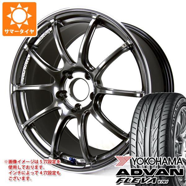 サマータイヤ 265/30R19 93W XL ヨコハマ アドバン フレバ V701 アドバンレーシング RZ2 9.0-19 タイヤホイール4本セット