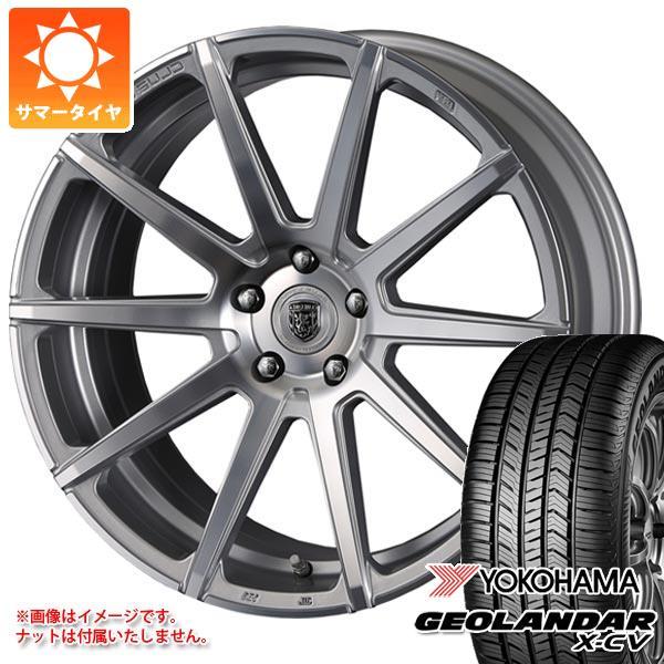 サマータイヤ 235/55R19 105W XL ヨコハマ ジオランダー X-CV G057 クリムソン クラブリネア マルディーニ 8.0-19 タイヤホイール4本セット