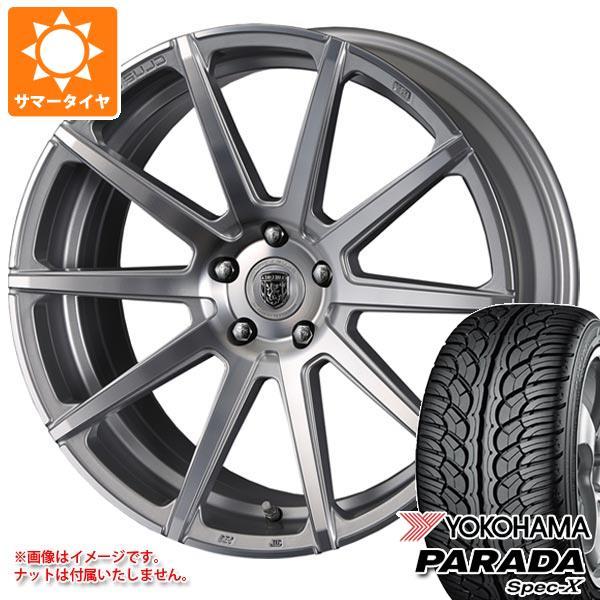 サマータイヤ 235/55R20 102V ヨコハマ パラダ スペック-X PA02 クリムソン クラブリネア マルディーニ 8.5-20 タイヤホイール4本セット