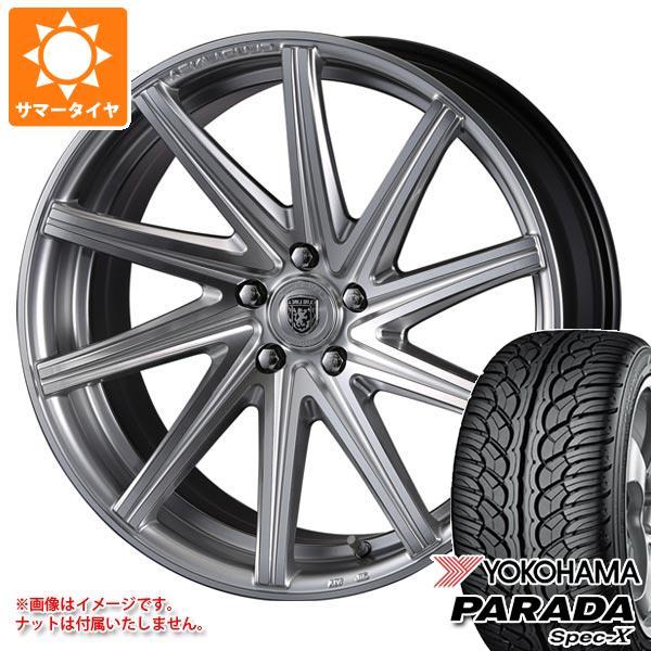 サマータイヤ 235/55R20 102V ヨコハマ パラダ スペック-X PA02 クリムソン クラブリネア ロッシ 8.5-20 タイヤホイール4本セット
