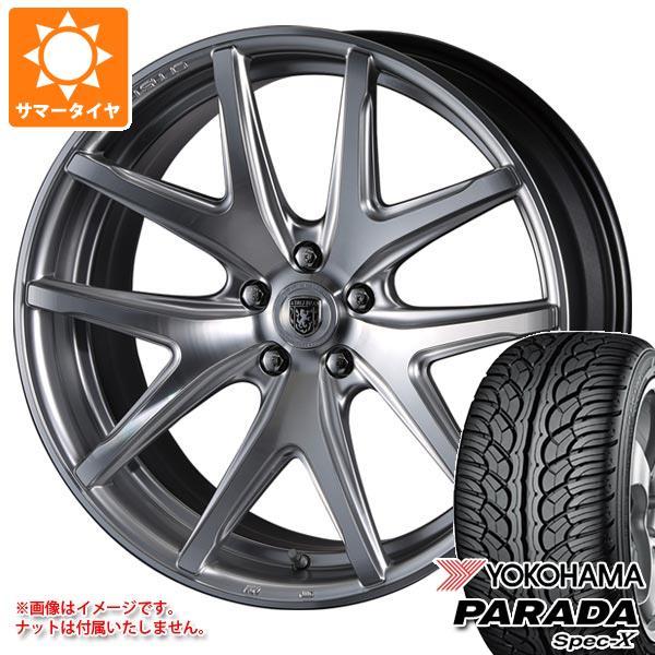 サマータイヤ 235/55R20 102V ヨコハマ パラダ スペック-X PA02 クリムソン クラブリネア ヴィエリ 8.5-20 タイヤホイール4本セット