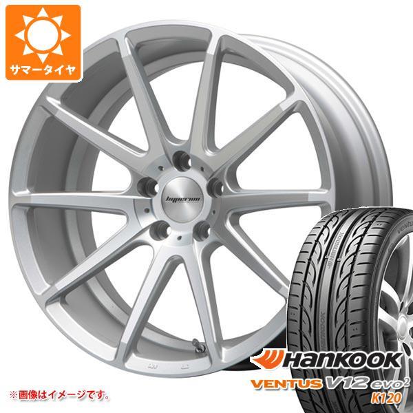 2020年製 サマータイヤ 235/35R19 91Y XL ハンコック ベンタス V12evo2 K120 ハイペリオン CVX 8.5-19 タイヤホイール4本セット