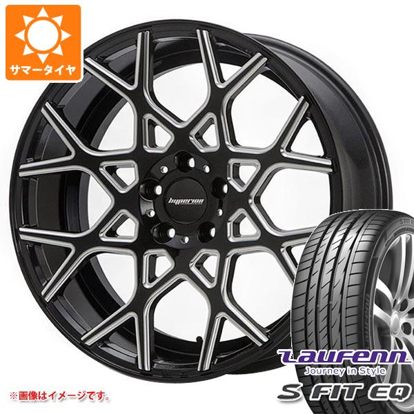 サマータイヤ 245/40R19 98Y XL ラウフェン Sフィット EQ LK01 MLJ ハイペリオン CVZ 8.5-19 タイヤホイール4本セット
