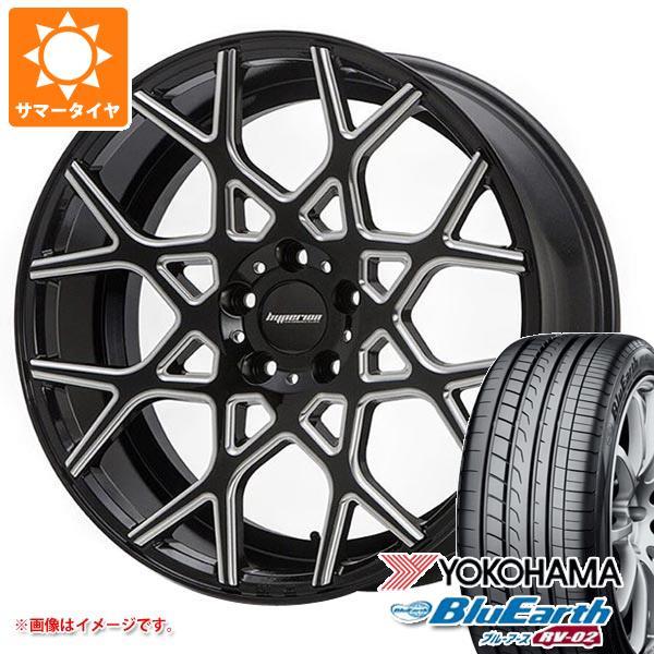 サマータイヤ 245/40R19 98W XL ヨコハマ ブルーアース RV-02 ハイペリオン CVZ 8.5-19 タイヤホイール4本セット