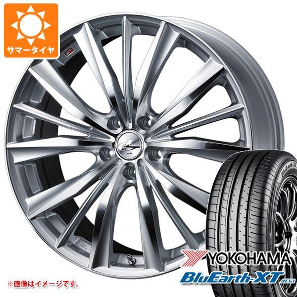 超美品の 2021年製 AE61 サマータイヤ 215 レオニス/55R17 WX 94V ヨコハマ ブルーアースXT AE61 レオニス WX 7.0-17 タイヤホイール4本セット, petite TeTe:997449b5 --- mail.durand-il.com