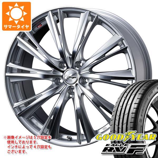 サマータイヤ 165/60R15 77H グッドイヤー イーグル RV-F レオニス WX 4.5-15 タイヤホイール4本セット