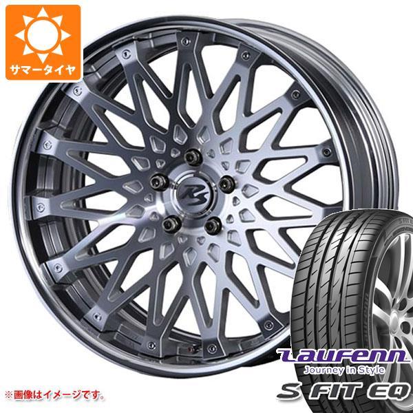 サマータイヤ 235/35R19 91Y XL ラウフェン Sフィット EQ LK01 クリムソン RS CV ワイヤー 8.0-19 タイヤホイール4本セット