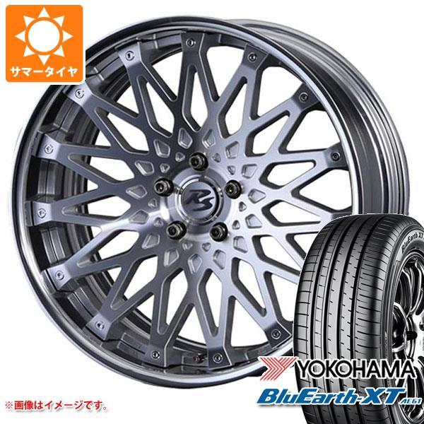 サマータイヤ 235/55R19 101V ヨコハマ ブルーアースXT AE61 クリムソン RS CV ワイヤー 8.0-19 タイヤホイール4本セット