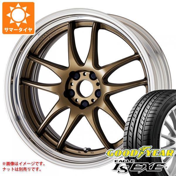 サマータイヤ 235/40R18 95W XL グッドイヤー イーグル LSエグゼ ワーク エモーション CR 2P 8.0-18 タイヤホイール4本セット