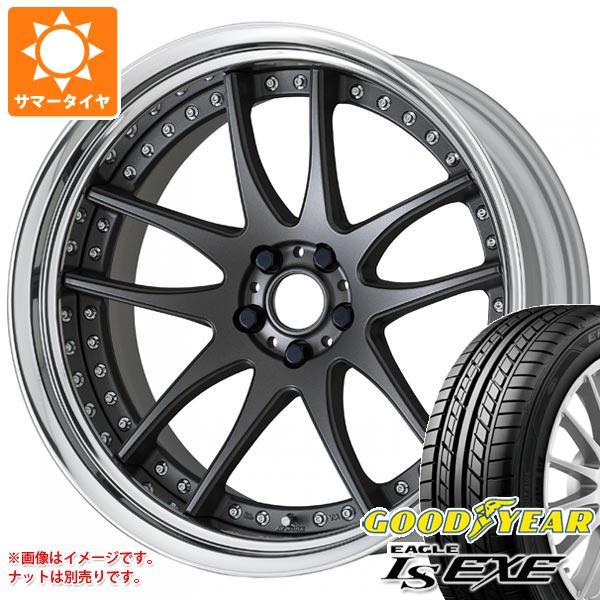 サマータイヤ 235/40R18 95W XL グッドイヤー イーグル LSエグゼ ワーク エモーション CR 3P 8.0-18 タイヤホイール4本セット