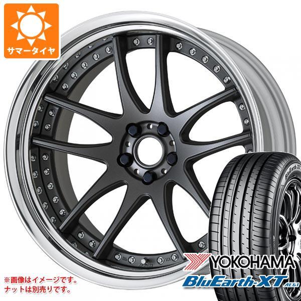 サマータイヤ 225/60R18 100H ヨコハマ ブルーアースXT AE61 エモーション CR 3P 7.5-18 タイヤホイール4本セット
