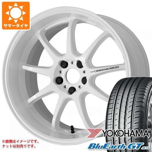 サマータイヤ 225/40R19 93W XL ヨコハマ ブルーアースGT AE51 ワーク エモーション D9R 8.5-19 タイヤホイール4本セット