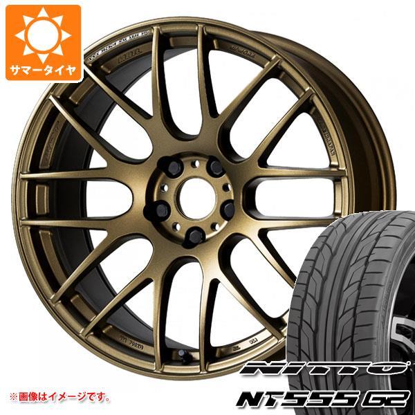 驚きの値段で サマータイヤ 225 NT555/45R17 8.0-17 94W XL ニットー ニットー NT555 G2 ワーク エモーション M8R 8.0-17 タイヤホイール4本セット, naval-:d4e2d591 --- sap-latam.com