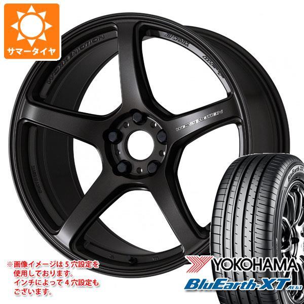 サマータイヤ 235/55R18 100V ヨコハマ ブルーアースXT AE61 エモーション T5R 7.5-18 タイヤホイール4本セット