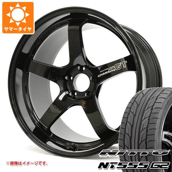サマータイヤ 245/40R20 99Y XL ニットー NT555 G2 アドバンレーシング GT プレミアムバージョン 9.0-20 タイヤホイール4本セット