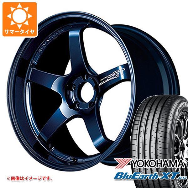 サマータイヤ 225/60R18 100H ヨコハマ ブルーアースXT AE61 アドバンレーシング GT プレミアムバージョン 8.0-18 タイヤホイール4本セット