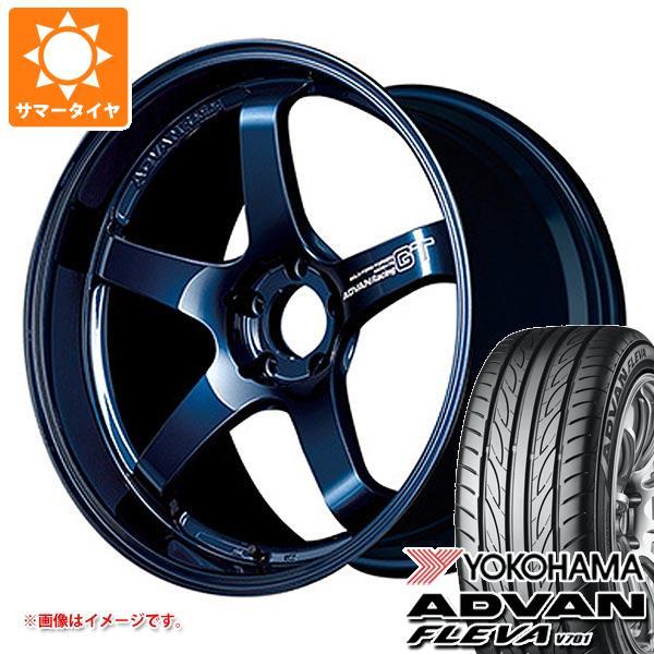 サマータイヤ 245/45R18 100W XL ヨコハマ アドバン フレバ V701 アドバンレーシング GT プレミアムバージョン 8.0-18 タイヤホイール4本セット