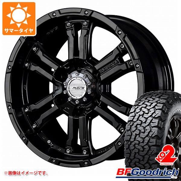 正規品 サマータイヤ 265/70R17 121/118S BFグッドリッチ オールテレーン T/A KO2 ホワイトレター レイズ デイトナ FDX SB 8.0-17 タイヤホイール4本セット