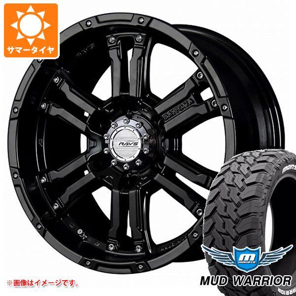 サマータイヤ 265/65R17 120/117Q モンスタ マッドウォーリアー ホワイトレター レイズ デイトナ FDX SB 8.0-17 タイヤホイール4本セット