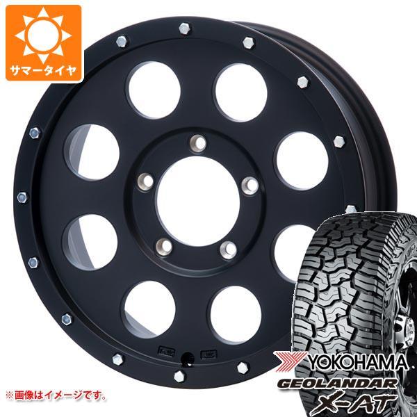 ジムニー専用 サマータイヤ ヨコハマ ジオランダー X-AT G016 195R16C 104/102Q ソリッドレーシング アイメタル X2 5.5-16 タイヤホイール4本セット