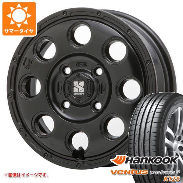 サマータイヤ 165/55R14 72V ハンコック ベンタス プライム3 K125 エクストリームJ KK03 軽カー専用 4.5-14 タイヤホイール4本セット