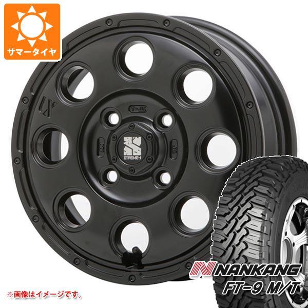 サマータイヤ 165/60R15 77S ナンカン FT-9 M/T ブラックサイドウォール エクストリームJ KK03 軽カー専用 4.5-15 タイヤホイール4本セット
