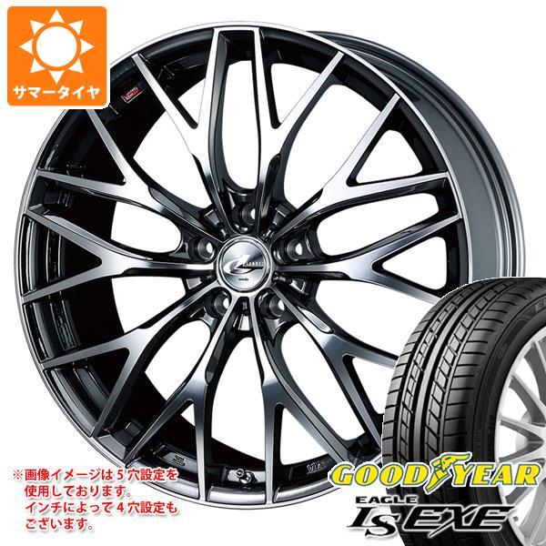 サマータイヤ 245/35R19 93W XL グッドイヤー イーグル LSエグゼ レオニス MX 8.0-19 タイヤホイール4本セット