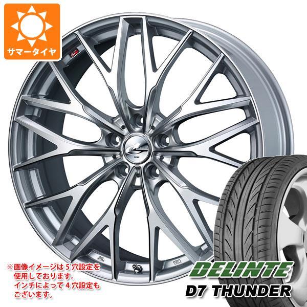 豪奢な サマータイヤ MX 225/35R19 88W 88W XL サマータイヤ デリンテ D7 サンダー レオニス MX 8.0-19 タイヤホイール4本セット, Highball:5bd7bb8c --- lebronjamesshoes.com.co