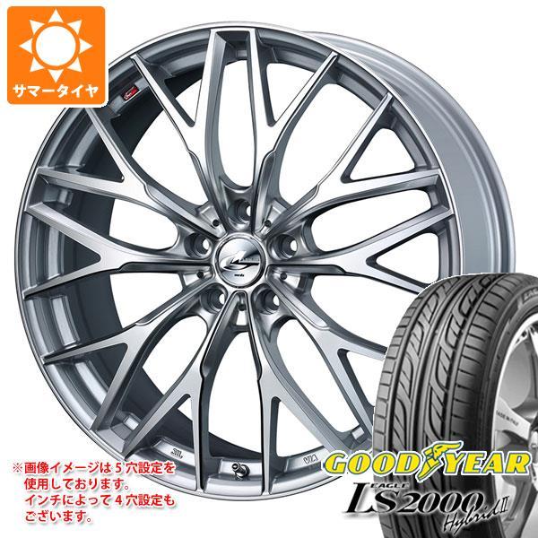 サマータイヤ 165/50R15 73V グッドイヤー イーグル LS2000 ハイブリッド2 レオニス MX HS3/SC 4.5-15 タイヤホイール4本セット
