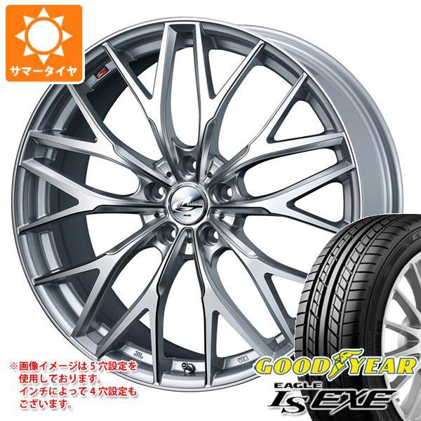 サマータイヤ 225/45R18 91W グッドイヤー イーグル LSエグゼ レオニス MX HS3/SC 7.0-18 タイヤホイール4本セット