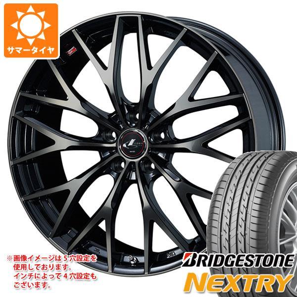サマータイヤ 155/55R14 69V ブリヂストン ネクストリー レオニス MX 4.5-14 タイヤホイール4本セット