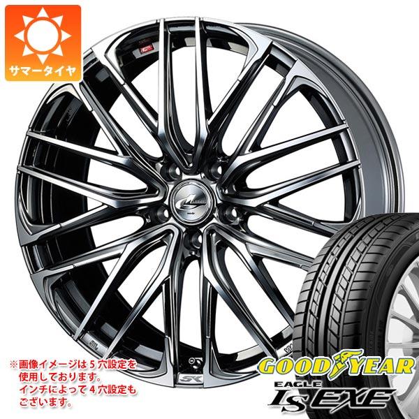 サマータイヤ 215/40R18 89W XL グッドイヤー イーグル LSエグゼ レオニス SK 7.0-18 タイヤホイール4本セット