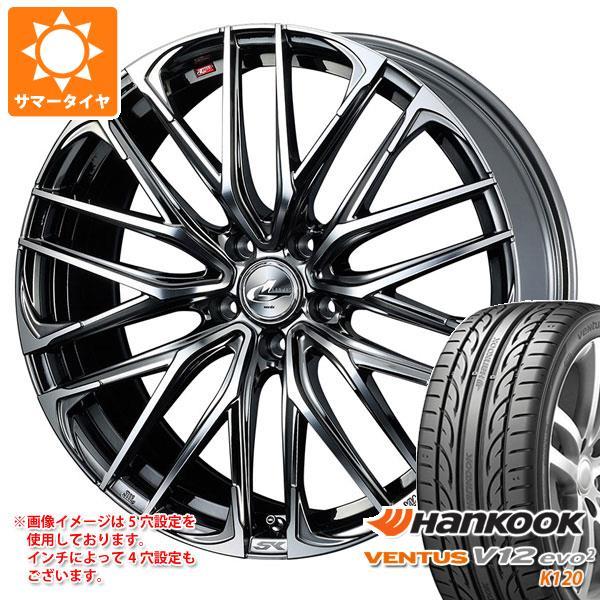 サマータイヤ 235/50R18 101Y XL ハンコック ベンタス V12evo2 K120 レオニス SK 8.0-18 タイヤホイール4本セット