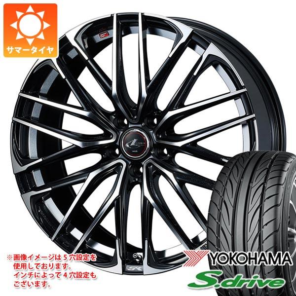 サマータイヤ 165/55R14 72V ヨコハマ DNA S.ドライブ ES03 レオニス SK 4.5-14 タイヤホイール4本セット