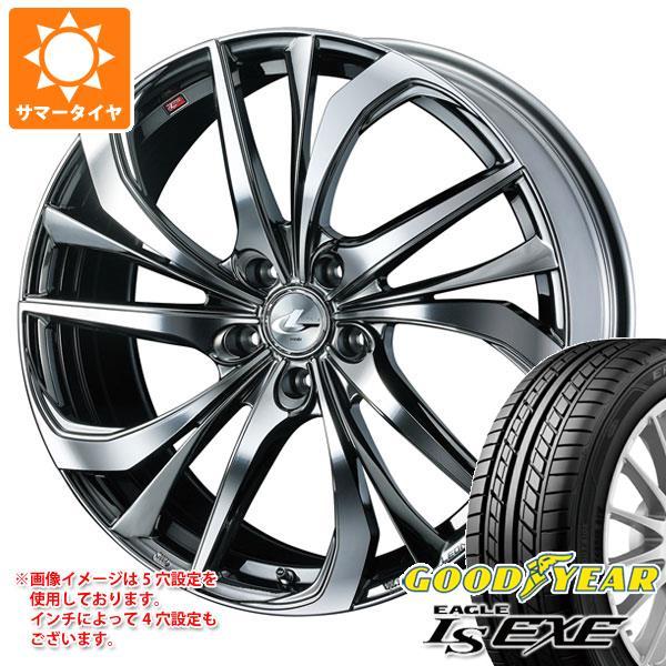 サマータイヤ 165/45R16 74W XL グッドイヤー イーグル LSエグゼ レオニス TE BMCミラーカット 5.0-16 タイヤホイール4本セット