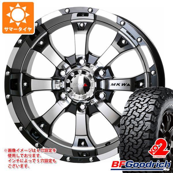 専門店では サマータイヤ 285/70R17 116/113S 8.0-17 オールテレーン BFグッドリッチ オールテレーン T 285/70R17/A KO2 ブラックレター MKW MK-46 8.0-17 タイヤホイール4本セット, M-kaep JAPAN:c169a4bd --- kventurepartners.sakura.ne.jp
