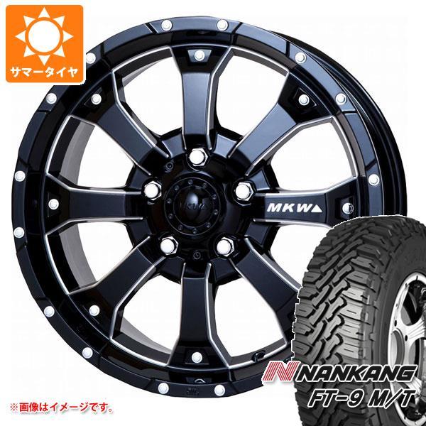ジムニー専用 サマータイヤ ナンカン FT-9 M/T 175/80R16 91S ホワイトレター MK-46 M/L+ MB 5.5-16 タイヤホイール4本セット