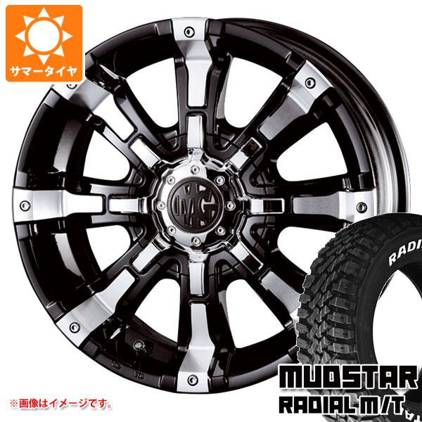 ジムニー専用 サマータイヤ マッドスター ラジアル M/T 215/70R16 100T ホワイトレター クリムソン MG ビースト 5.5-16 タイヤホイール4本セット