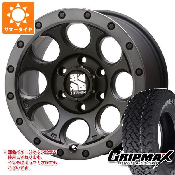 サマータイヤ 225/70R16 103T グリップマックス グリップマックス A/T アウトラインホワイトレター エクストリームJ XJ03 7.0-16 タイヤホイール4本セット